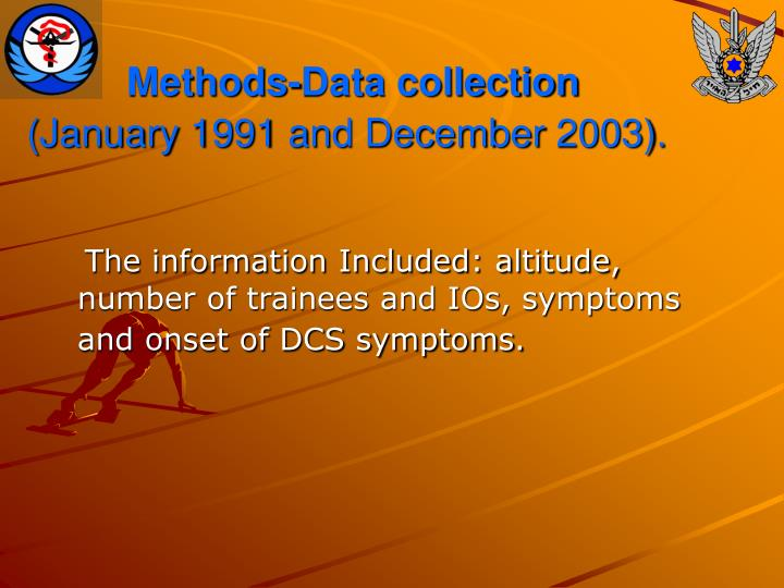 Methods-Data collection
