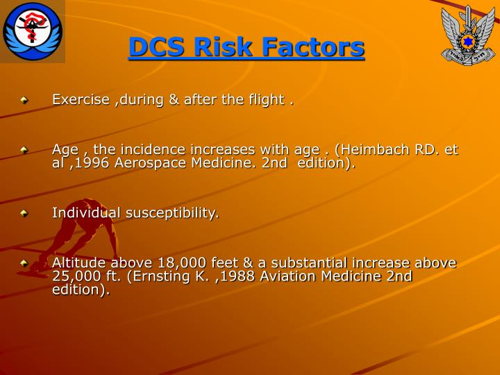DCS Risk Factors