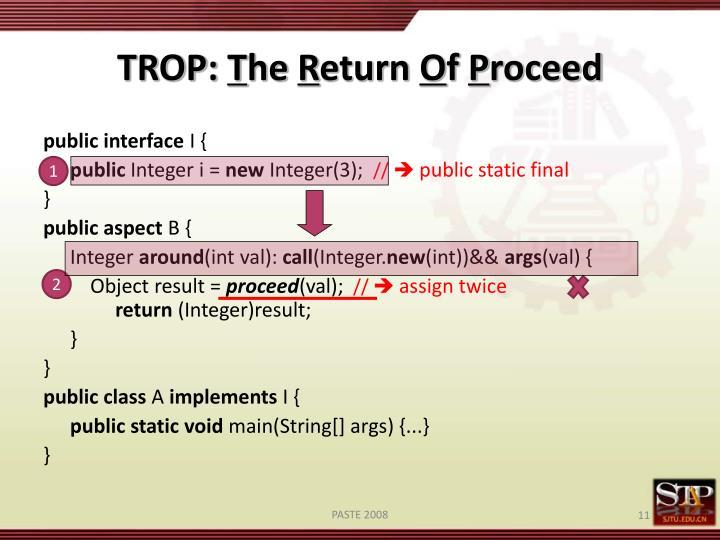 TROP: