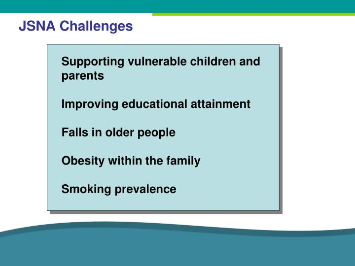 JSNA Challenges