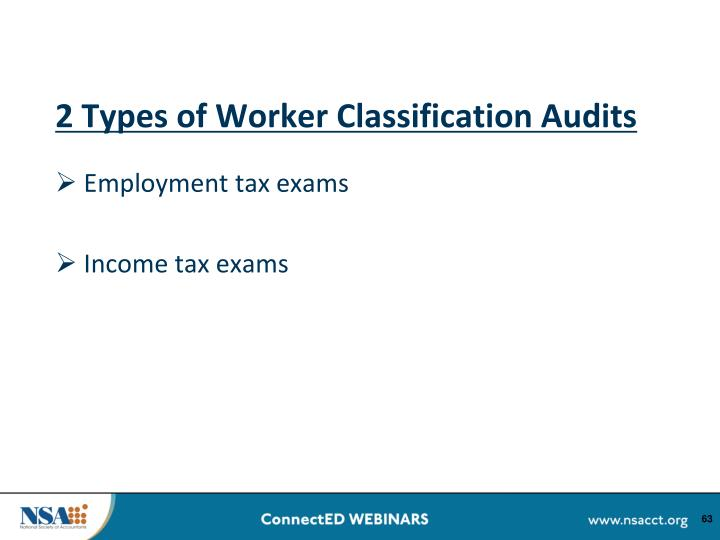 2 Types of Worker Classification Audits