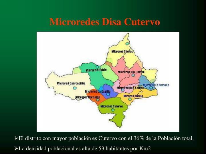 Microredes Disa Cutervo