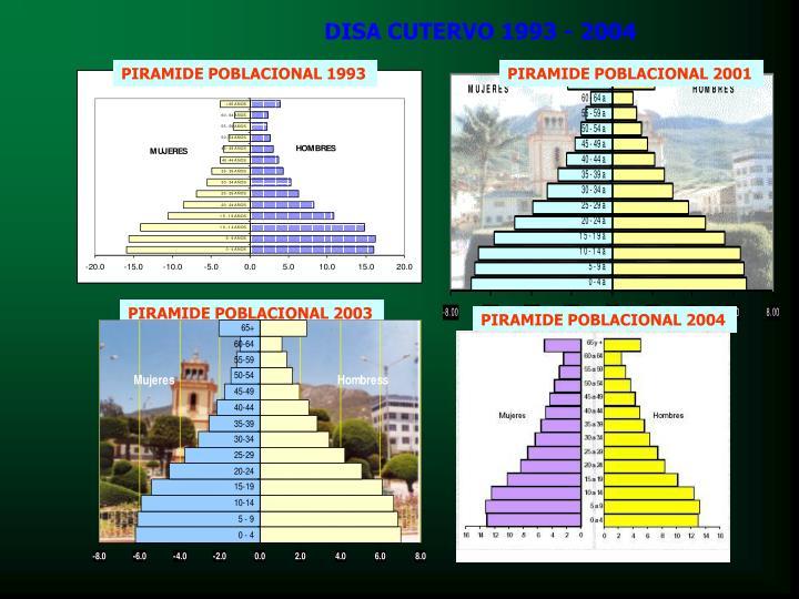 DISA CUTERVO 1993 - 2004