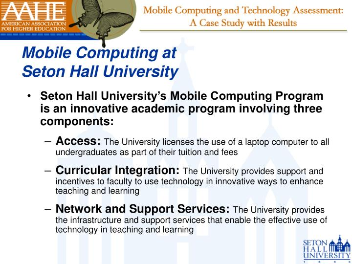 Mobile Computing at