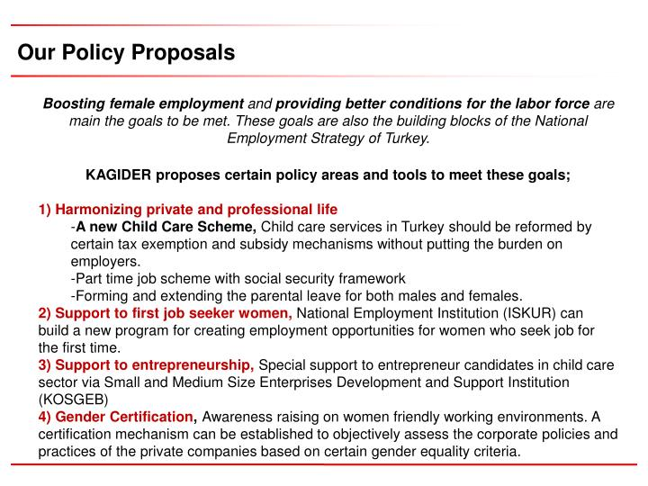 Our Policy Proposals