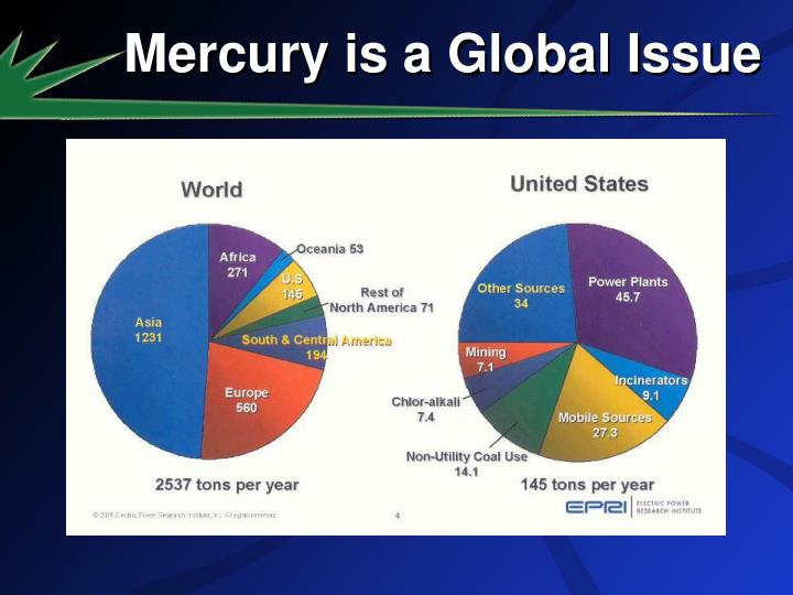 Mercury is a Global Issue