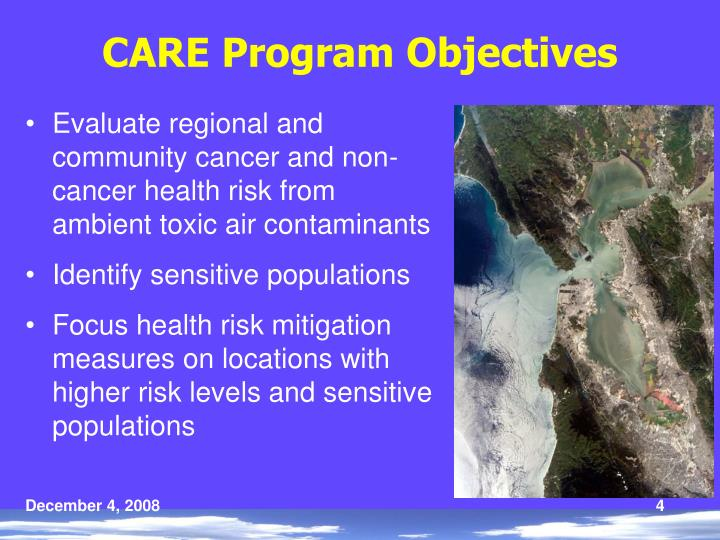 CARE Program Objectives