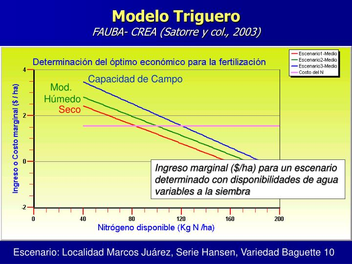 Modelo Triguero
