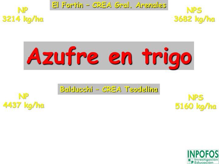 El Fortin – CREA Gral. Arenales