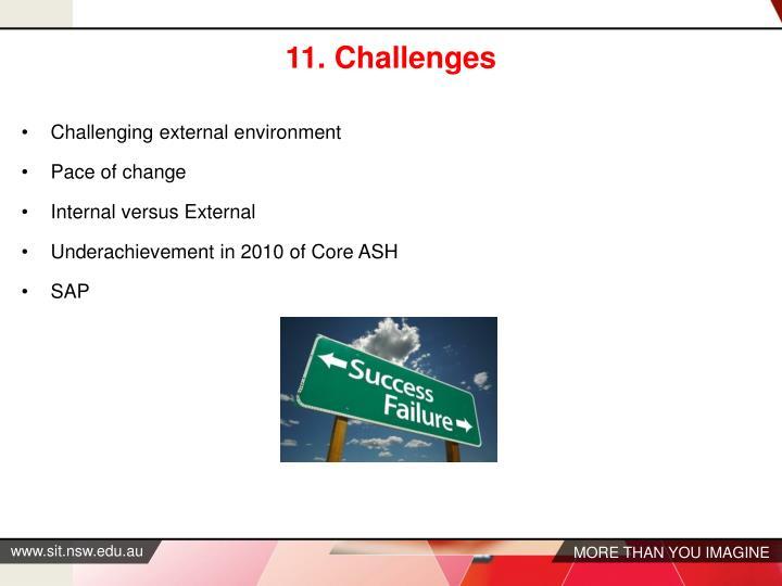 11. Challenges