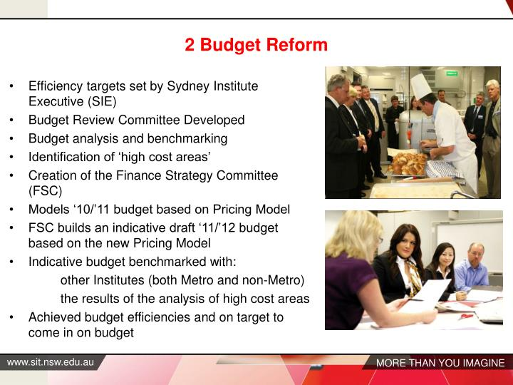 2 Budget Reform