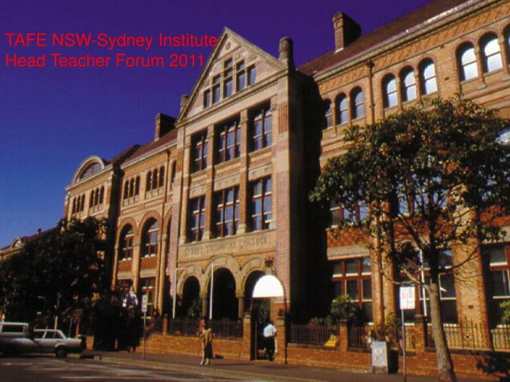TAFE NSW-Sydney Institute