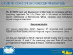 dri mpd consistency recommendation