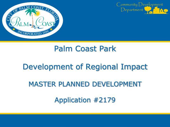 Palm Coast Park