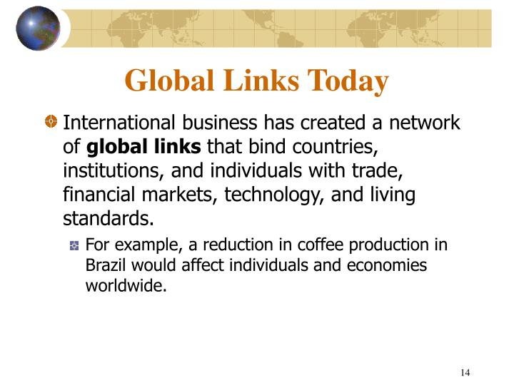 Global Links Today