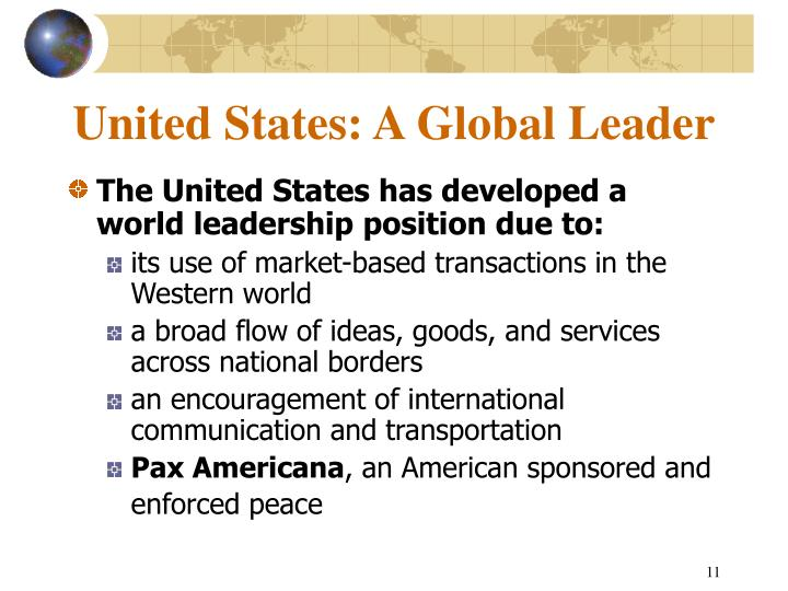 United States: A Global Leader