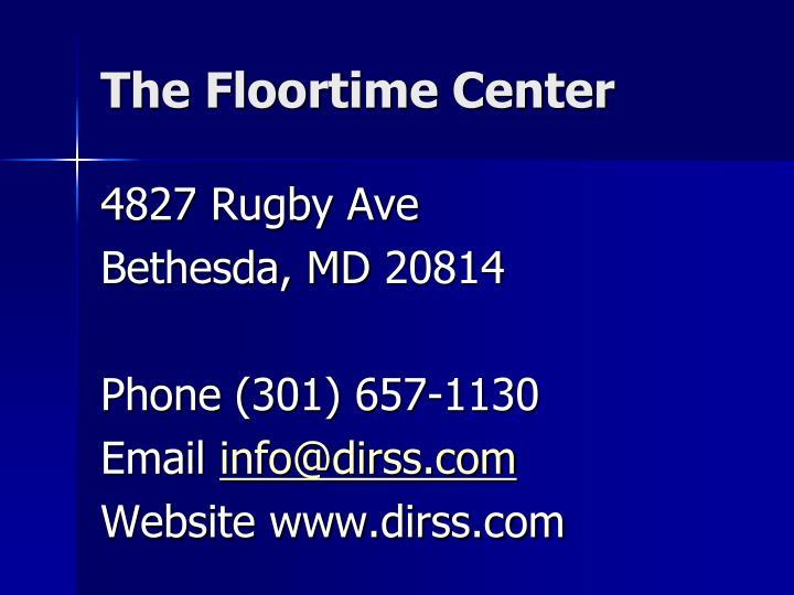The Floortime Center