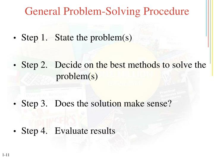General Problem-Solving Procedure