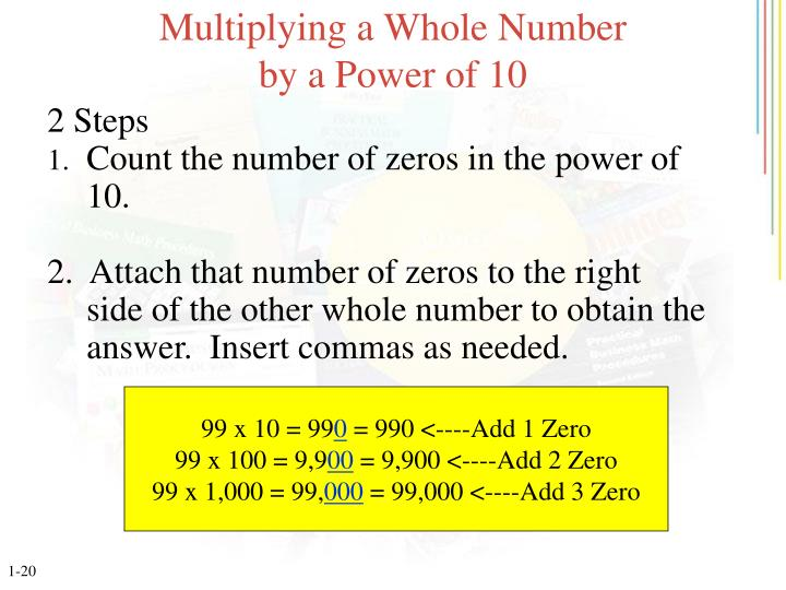 Multiplying a Whole Number