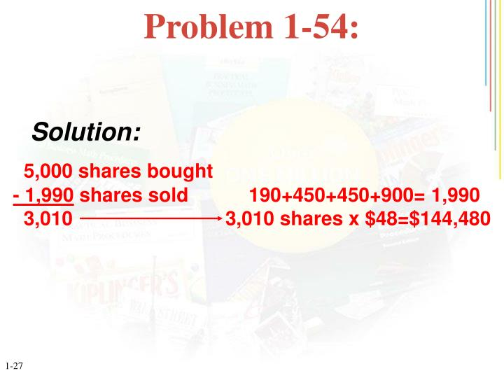 Problem 1-54: