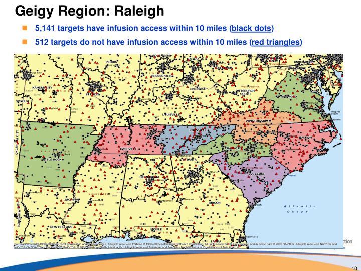 Geigy Region: Raleigh
