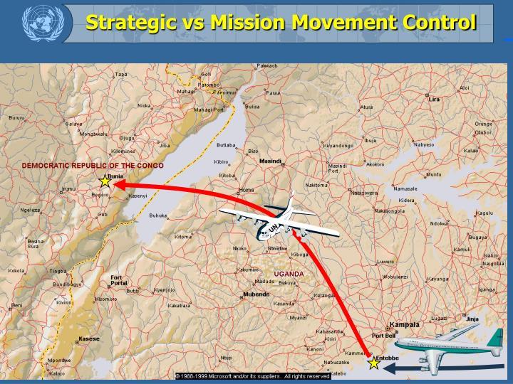 Strategic vs Mission Movement Control