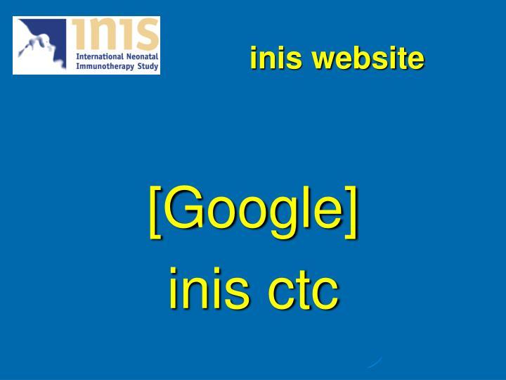 inis website