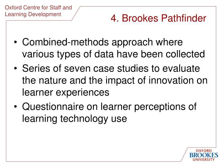 4. Brookes Pathfinder
