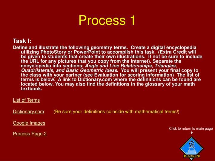 Process 1