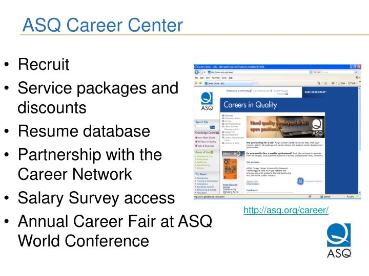 ASQ Career Center