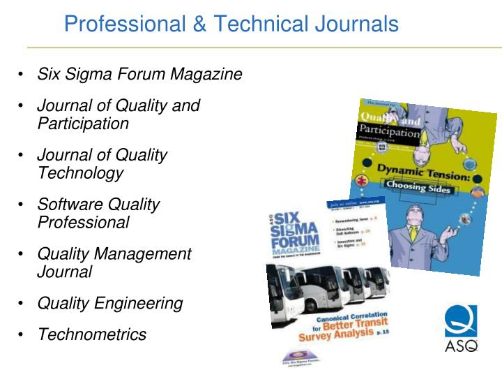 Professional & Technical Journals