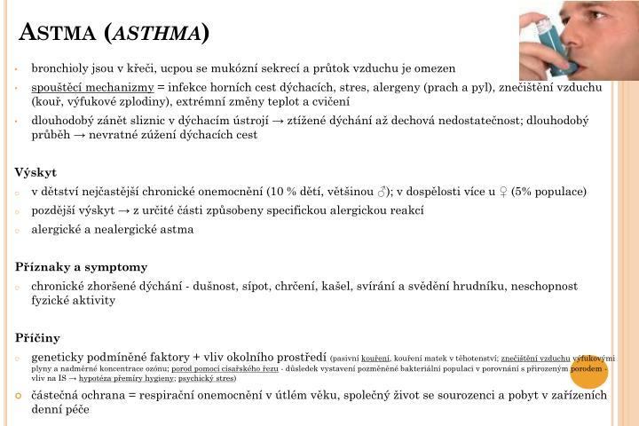 Astma (