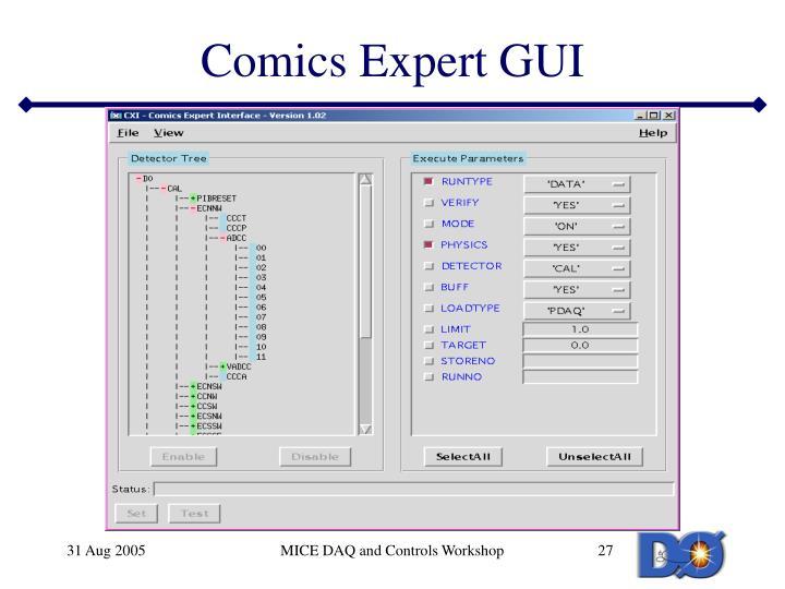 Comics Expert GUI