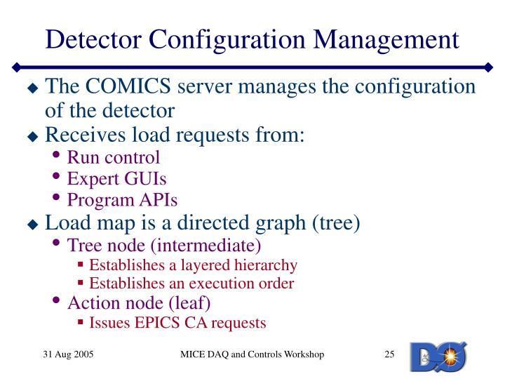 Detector Configuration Management