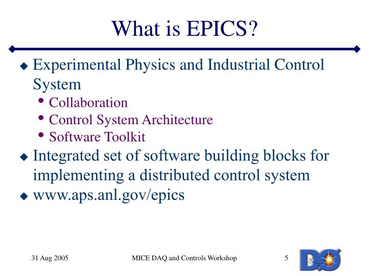 What is EPICS?