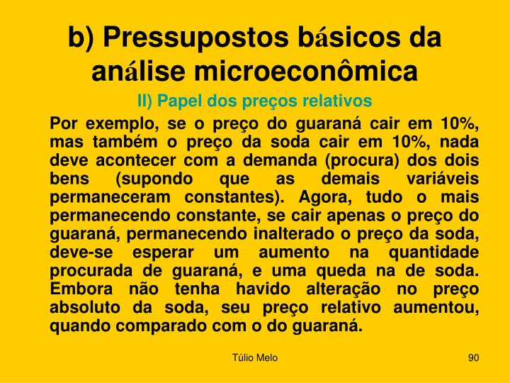 b) Pressupostos b