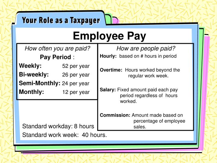Employee Pay