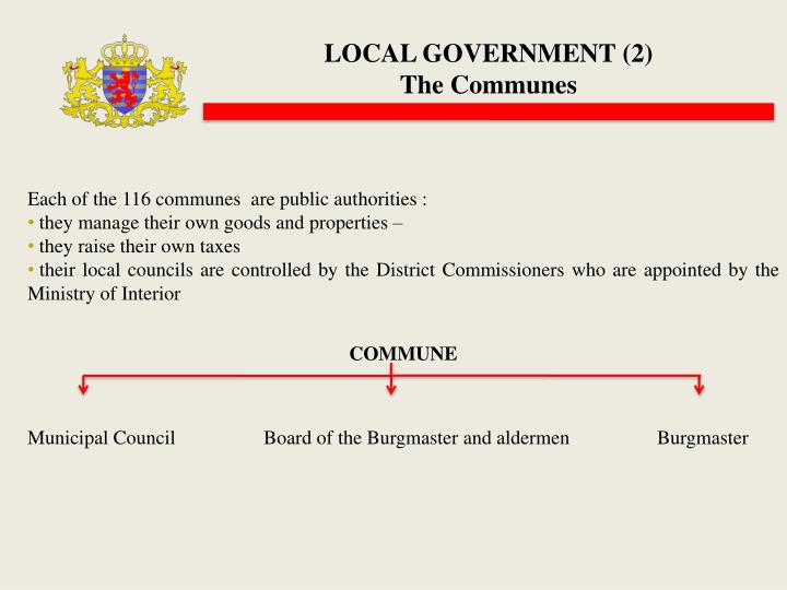LOCAL GOVERNMENT (2)