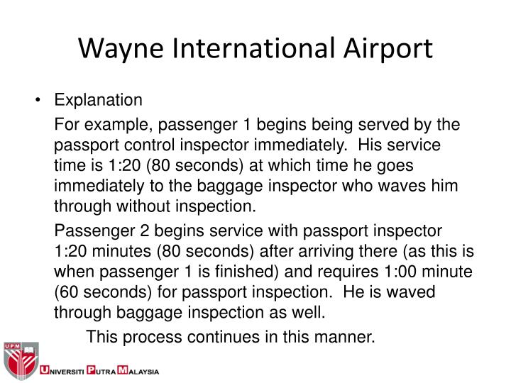 Wayne International Airport