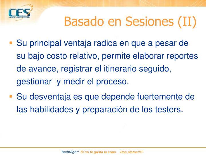 Basado en Sesiones (II)