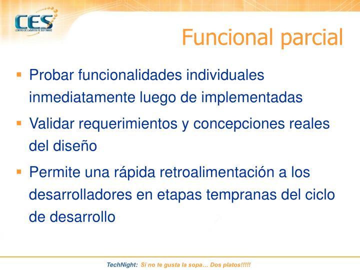 Funcional parcial