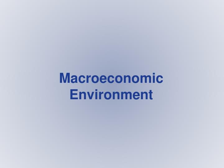 Macroeconomic