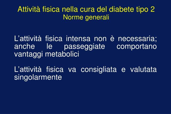 Attività fisica nella cura del diabete tipo 2