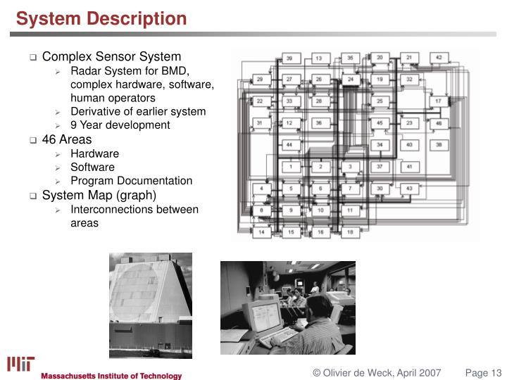 Complex Sensor System