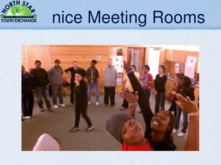 nice Meeting Rooms