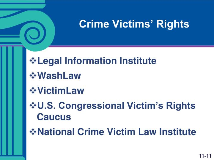 Crime Victims' Rights
