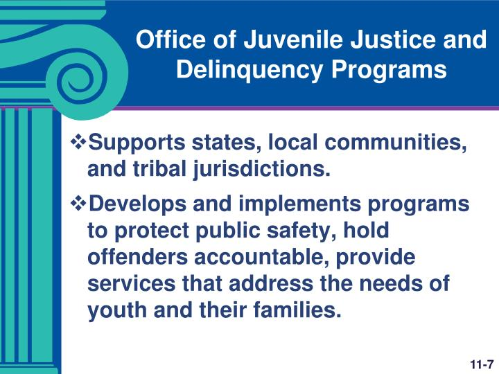 Office of Juvenile Justice and Delinquency Programs