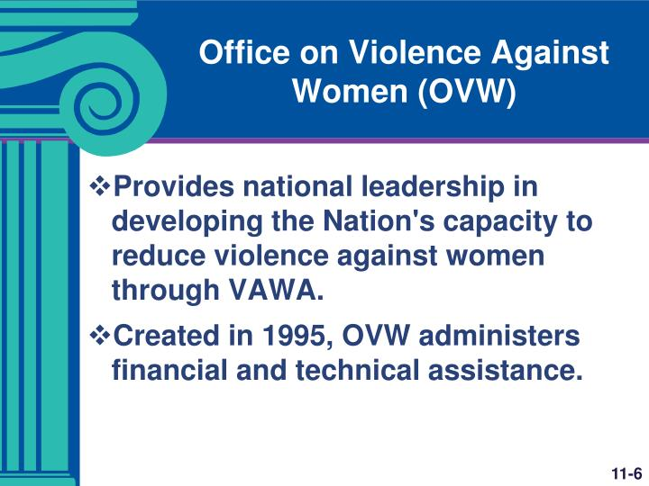Office on Violence Against Women (OVW)