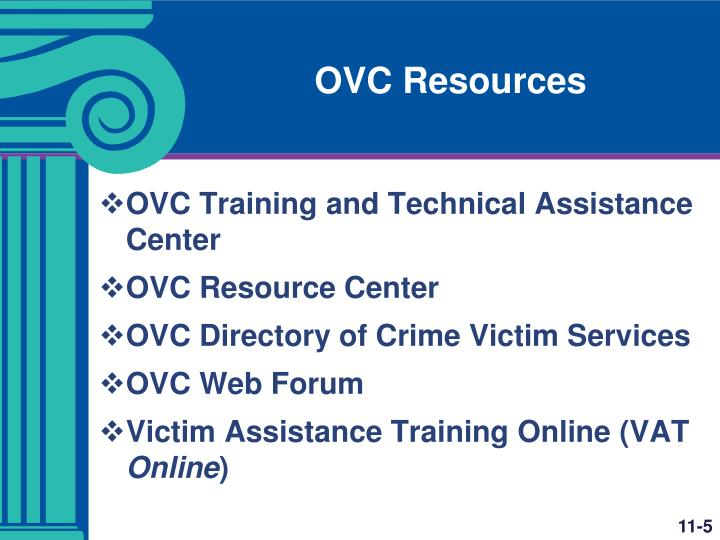 OVC Resources