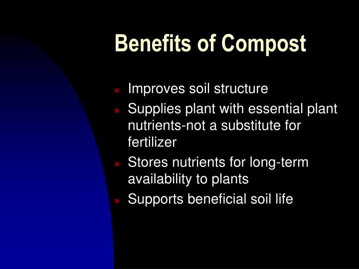 Benefits of compost